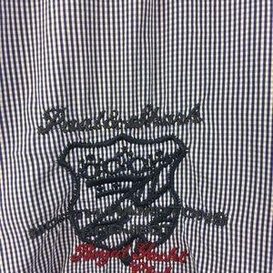 Paul & Shark Tops - Paul Shark Shirt Women 40 Yachting Gingham Plaid